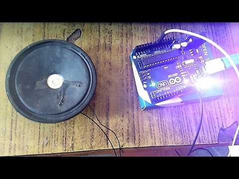 Interface Speaker With Arduino And Play A Tone
