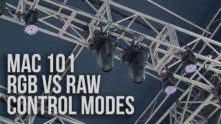 RAW vs RGB M๐de with Martin Mac 101s