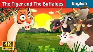 Tiger and Buffaloes in English | Story | English Fairy Tales