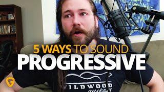 "Make Your Boring Power Chords Sound ""Progressive"" - Prog Rock Guitar Lesson"