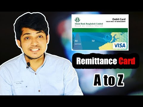 Remittance Card  A to Z Islami Bank Bangladesh Ltd