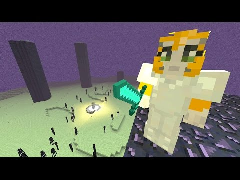 Minecraft Xbox - Sky Den - BATTLE TIME! (89)