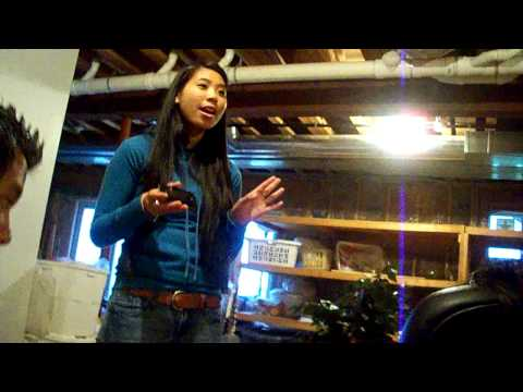 Kathy Singing.