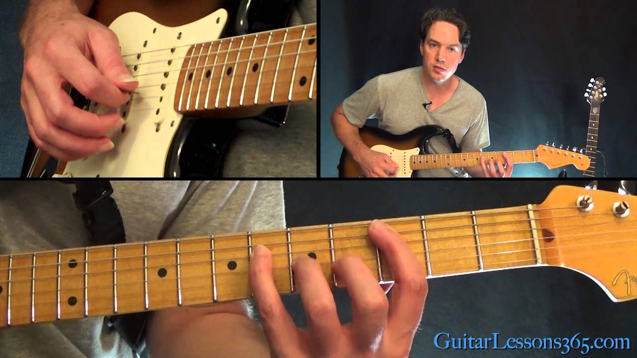 Interstate Love Song Guitar Lesson Stone Temple Pilots Youtube