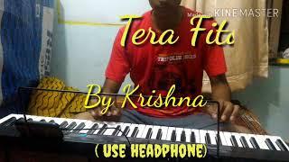 TERA FITOOR ON PIANO WITH KARAOKE MUSIC