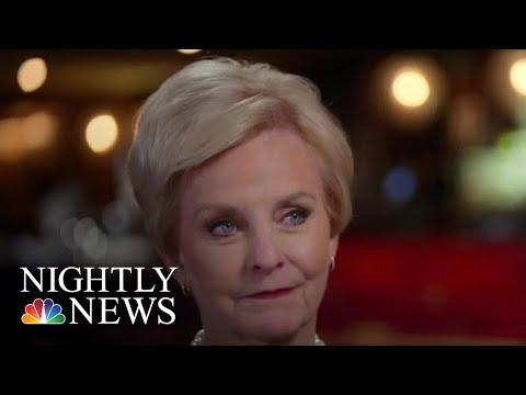 Cindy McCain On Trump's Wall, Human Trafficking & Life Since Her Husband's Death   NBC Nightly News