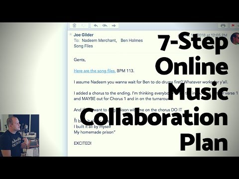 How to Collaborate With Other Musicians ONLINE