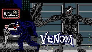 Venom - 8-Bit Trailers (2018) Tom Hardy Supervillain Movie