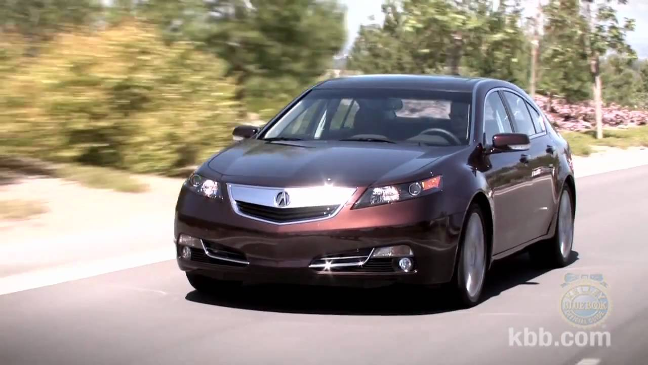 2012 Acura TL Review - Kelley Blue Book - YouTube