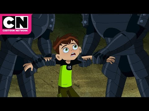 Trapped in Greece | Ben 10 | Cartoon Network