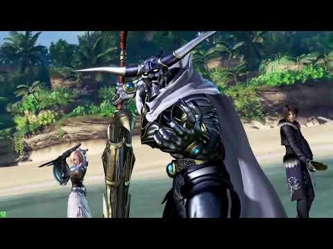 Dissidia Final Fantasy Arcade (DFFAC / DFFNT) Commentary - Garland