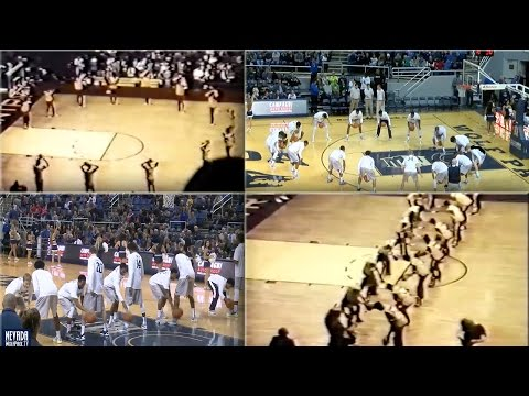 Nevada Basketball Warmup Routine Vs. Portland State