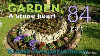GARDEN (84) - Super flower bed - Forming a pine - Garden Inspirations.