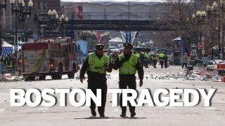 Deadly Explosions at Boston Marathon #prayforboston