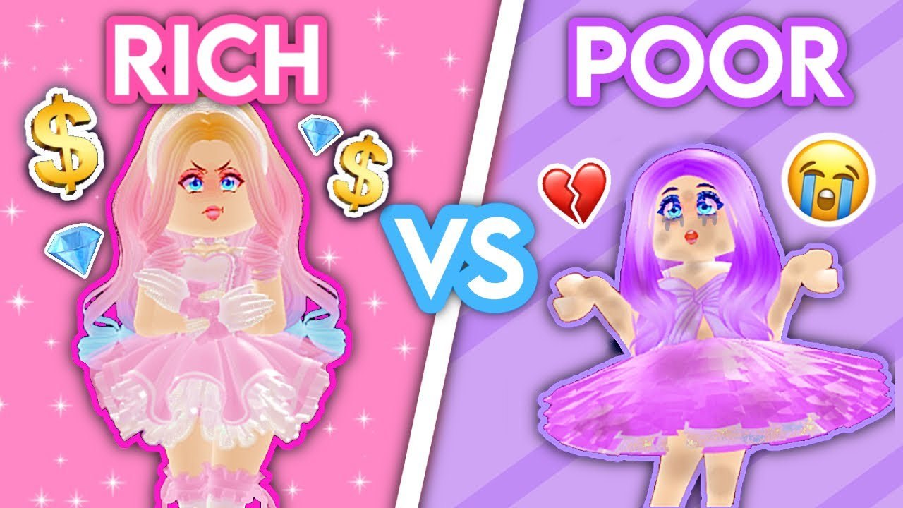 ROYALE HIGH SUNSET ISLAND CHALLENGE! Rich VS Poor Outfits… WHO WILL WIN? Royale High Experiment 2021