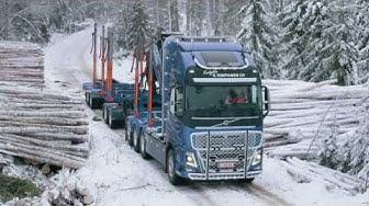 Volvo Trucks -Hauling timber through Finland's frozen forests - Meet our customer: Simpanen Oy