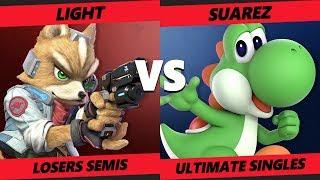Smash at the Paramount SSBU - Rogue   Light (Fox) Vs. MTS   Suarez (Yoshi) Smash Ultimate L. Semis