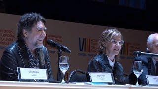 """Sabina, el """"impostor"""" y su poema imperdible en el Congreso de la Lengua"""