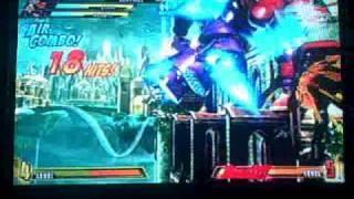 Marvel vs Capcom 3 Sentinel Hard drive into a combos.wmv