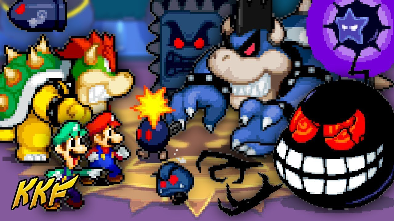 The Grand Finale Vs Dark Bowser Dark Star Core Mario