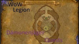 iZocke WoW: Legion Klassenquests Dämonenjäger #085 - Runenruinierung: Runenskeld Rollo
