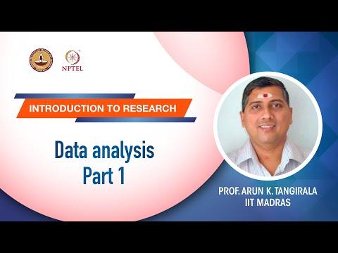 Data analysis Part 1