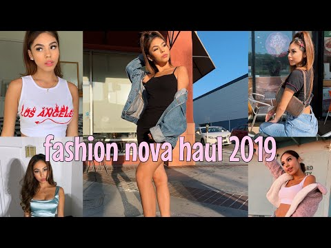 Fashion Nova Try On Haul 2019