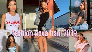 fashion nova try on haul 2019 Video