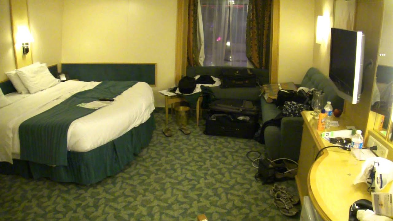 Great Handicap Accessible Room On Royal Caribbean   Liberty Of The Seas   YouTube