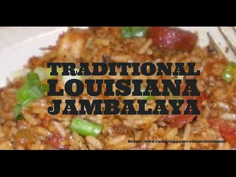 How To Make Authentic Louisiana Chicken & Smoked Sausage Jambalaya