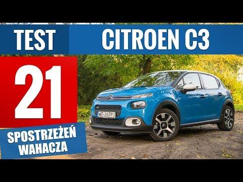 Citroen C3 Shine 1.2 PureTech 82 KM (2017) - TEST PL