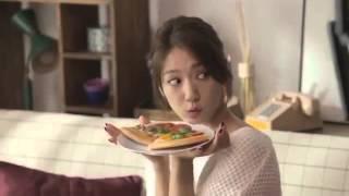 Park Shin Hye  y Kang Ha Neul para Yogiyo 올 가을 박신혜도 썸탄다