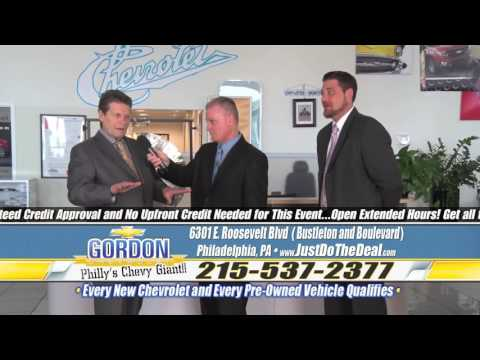 """Steve's $5,000 Challenge! Just Do The Deal!"" Gordon Chevrolet, Philadelphia PA"
