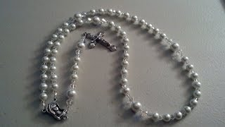 How To Make A Simple 5 Decade Catholic Rosary