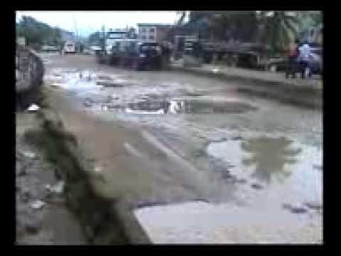 BAD ROADS AT AMUWO ODOFIN