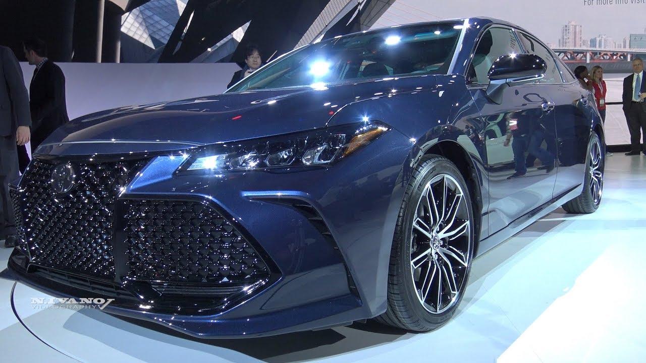 Toyota Camry 2018 Interior >> 2019 Toyota Avalon XSE - Exterior And Interior Walkaround ...