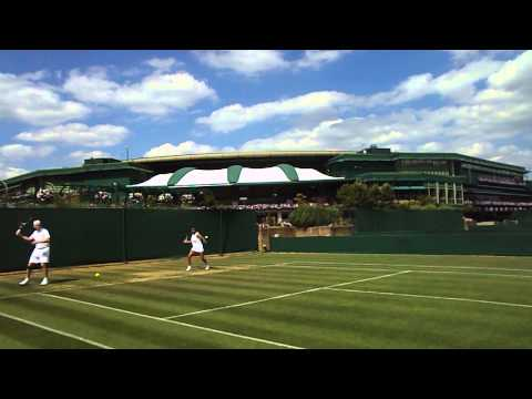 The All England Tennis Club: My first HIT
