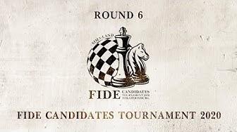 FIDE Candidates Tournament. Round 6