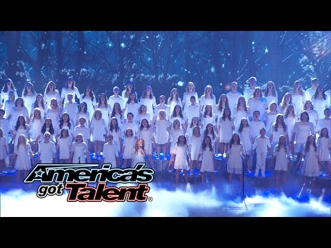 One Voice Childrens Choir: Choir s Let It Go from Frozen  Americas Got Talent 2014