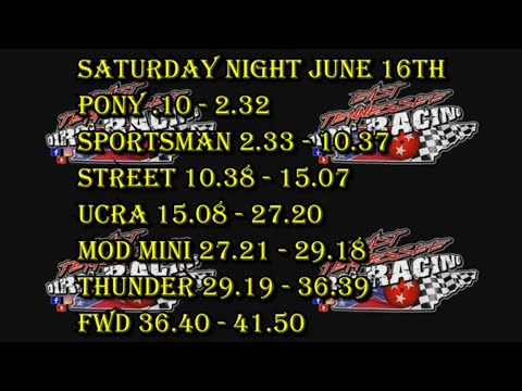 Wartburg Speedway UCRA + Weekly Racing (6-16-18)