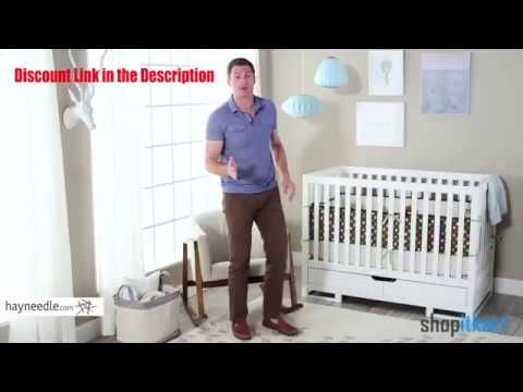 Babyletto Lolly 3-in-1 Convertible Crib with Toddler Bed Conversion Kit | Best Baby Cribs Reviews