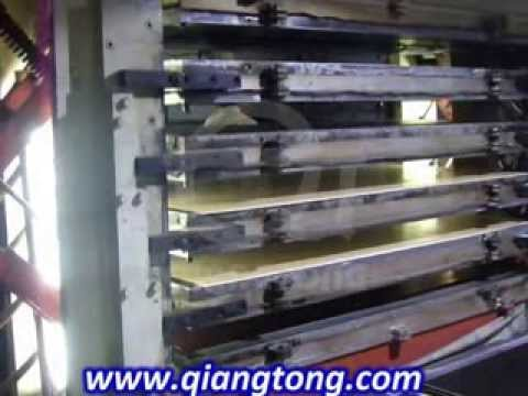 Moulded Door Skin Press Machine Hdf Primer Door Skin Hot