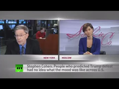 Trump win is no catastrophe, it's politics - Stephen Cohen