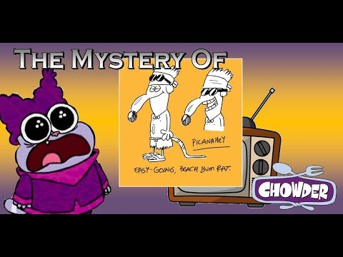 Random Movie Pick - The Mystery of the Chowder TV Movie (Canceled Cartoon Network Special, 2009) YouTube Trailer