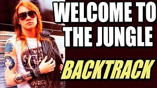 Welcome To The Jungle Guitar Backing Track - Guns N´ Roses TC…