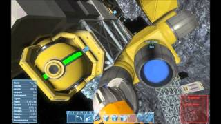 Space Engineers   S1 E2   Basic Mining Vessel