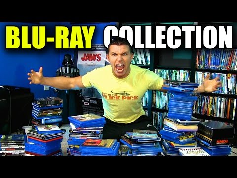 Entire BLU-RAY Movie Collection!!