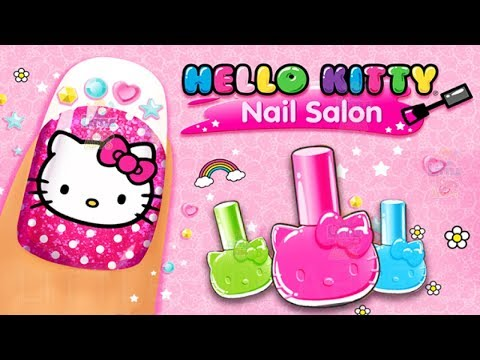 Hello Kitty Nail Salon Makeup and Dress Up Kids Game - Learn to Decorate Nails (Budge Studios)