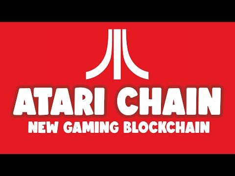 ATARI CHAIN BLOCKCHAIN GAMING ENTERTAINMENT  PLATFORM – ATARI TOKEN PLAY TO EARN ATARICHAIN.COM