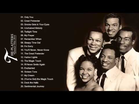 The Platters Greatest hits playlist  Collection HDHQ